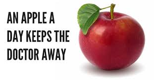 An apple a day keeps the doctor away - Reviews | Facebook